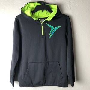 Old Navy Active 1/4 Zip Pull-Over Hoodie Youth XL